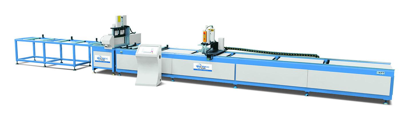 高精度数控送料单头切割锯LJJE-CNC-500