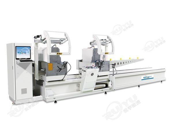 铝型材数控双头精密切割锯LJH2BA-CNC-500×5000/6000