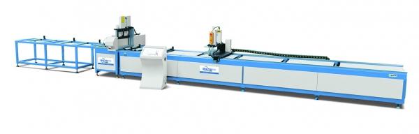 济南高精度数控送料单头切割锯LJJE-CNC-500