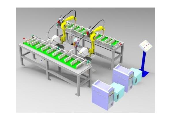 双工位焊接机器人工作站