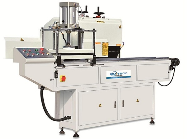 铝型材重型自动排料调刀端面铣床